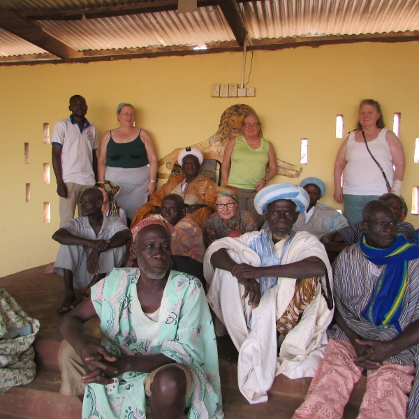 Group with Village Chief and Elders