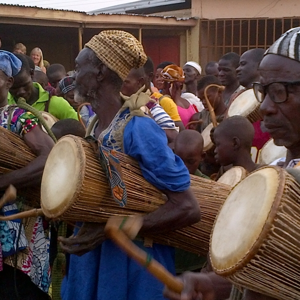 Talking drums of Northern Ghana