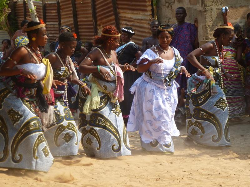 Ewe Dancers